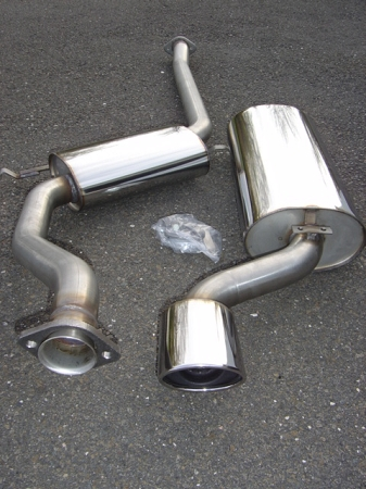 SWEDISH DYNAMICS SAAB, 2 3 Liter, 9000 Stainless Steel Performance Exhaust  System 1991-1998
