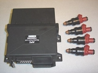 2020 APC Package #4 For 1990-1993 900T(Including 1994 Convert) APC Stage 4, Red Series Fuel Injector Set Plus Fuel EPROM(