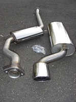 SWEDISH DYNAMICS SAAB, 2.3 Liter, 9000 Stainless Steel Performance Exhaust System 1991-1998