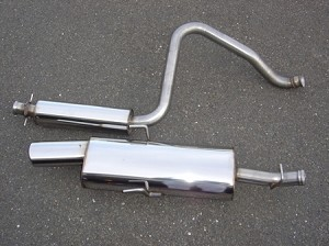 SWEDISH DYNAMICS SAAB 9-3 Stainless Steel Performance Exhaust System