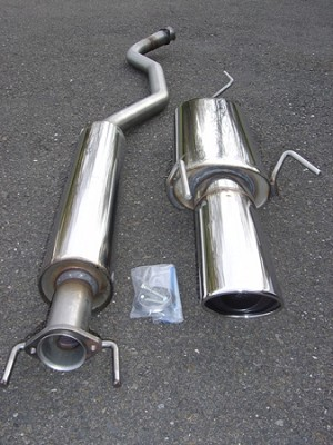 SWEDISH DYNAMICS SAAB 9-5 Stainless Steel Performance Exhaust System