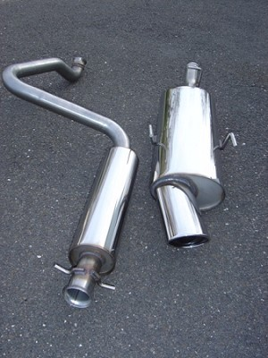 SWEDISH DYNAMICS Stainless Steel Performance Exhaust System 1994-1998